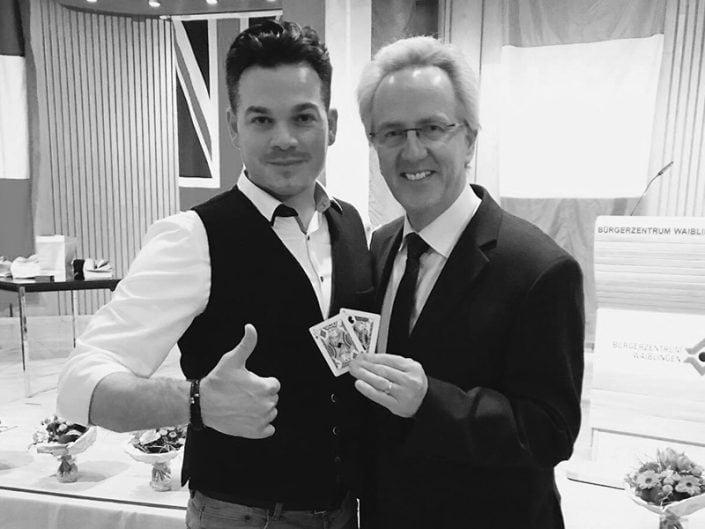 BBeeindrucken Sie Ihre Kunden mit Zauberer Messe Stuttgart - Marco Miele.