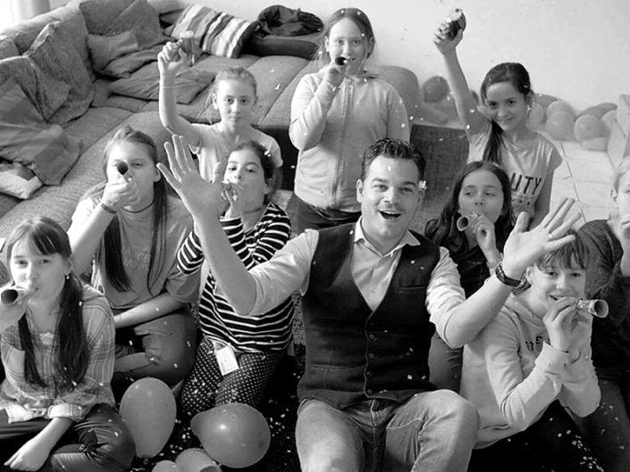 Kindergeburtstag Zauberer Stuttgart Party Magier Waiblingen