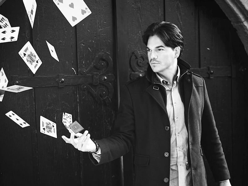 Zauberer, Magier Marco Miele zaubert in Ihrer Stadt