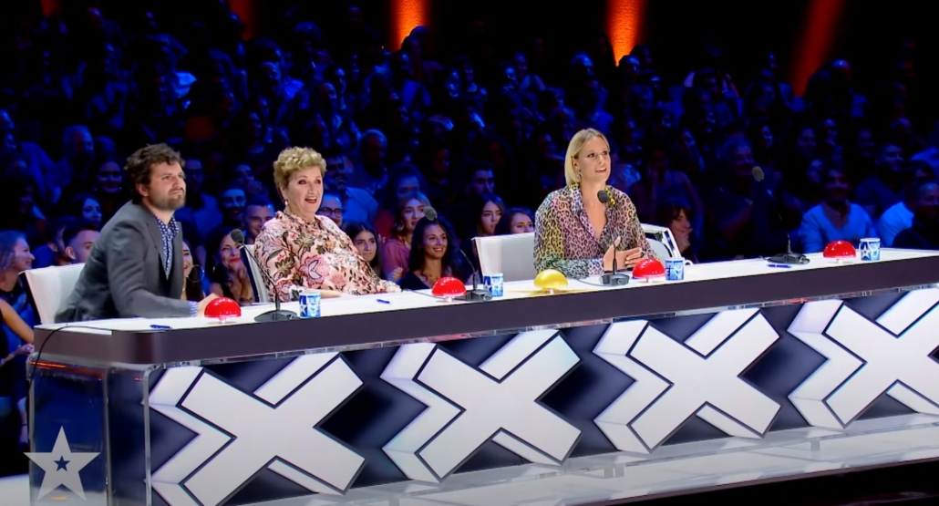 Marco Miele amazes the jury at Italia's Got Talent