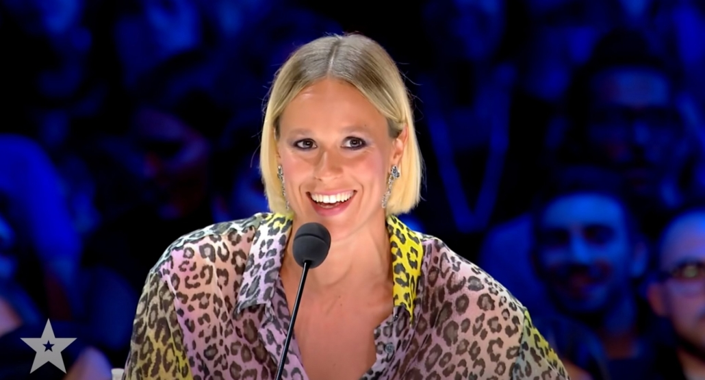 Federica Pellegrini, world-champion swimmer, enchanted by Marco Miele