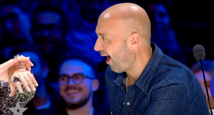 The magician from Stuttgart at the Italian Talent Show