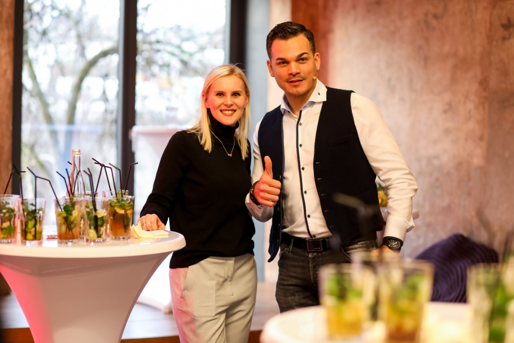 Marco Miele enriches trade shows and corporate conventions in Stuttgart with his magic show
