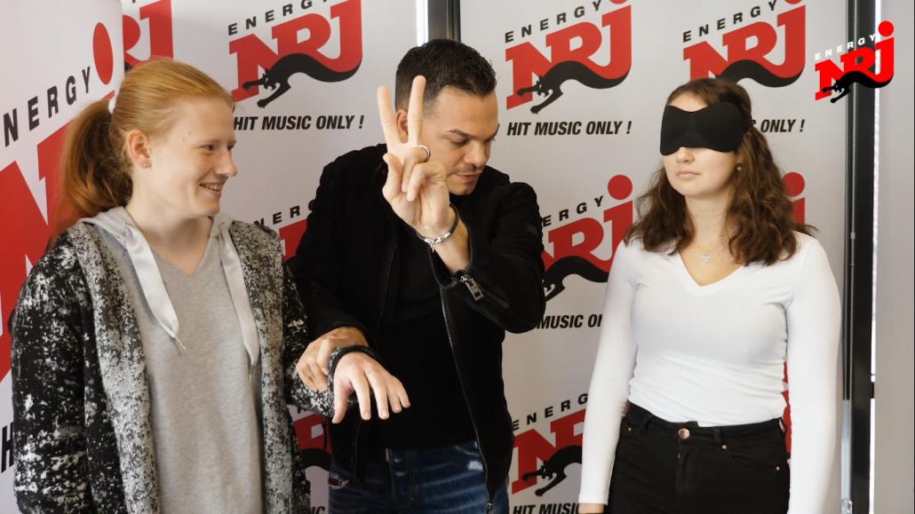 Radio Energy invita Marco Miele ad un'intervista, e l'incredibile mago lascia tutti senza parole
