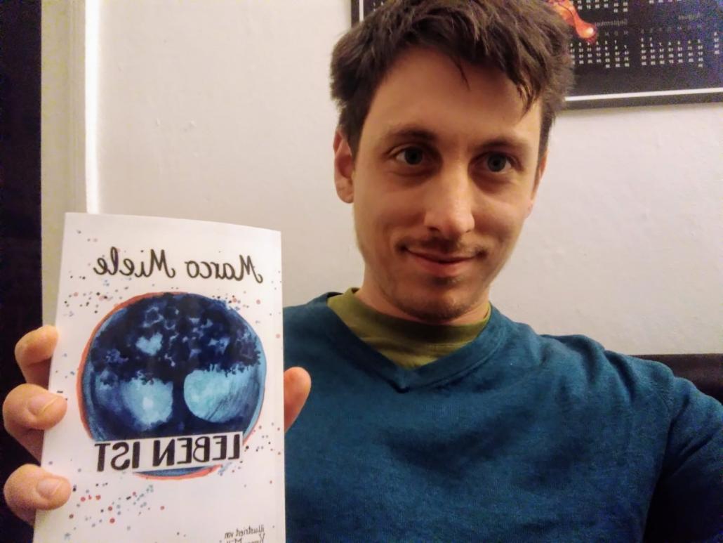"""Marco Mieles neues Buch """"Leben ist"""" ist anregende Philosophie für jeden."""